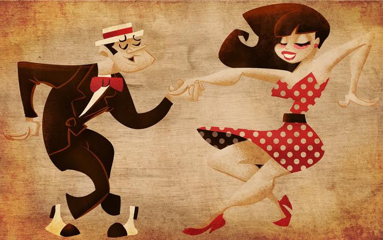 dance cartoon